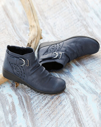Flexisole Buckle Ankle Boots