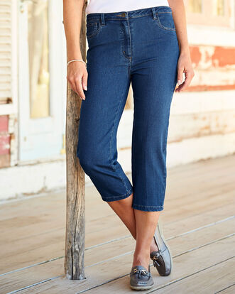 Stretch to Fit Crop Jeans