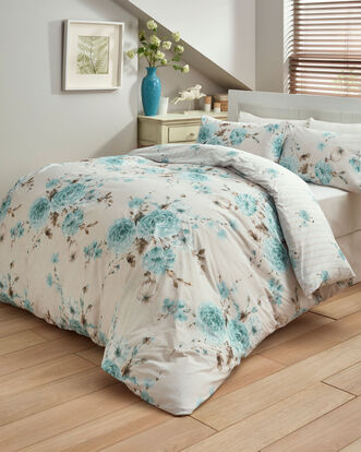 Country Rose 200 Thread Count Cotton Duvet Set