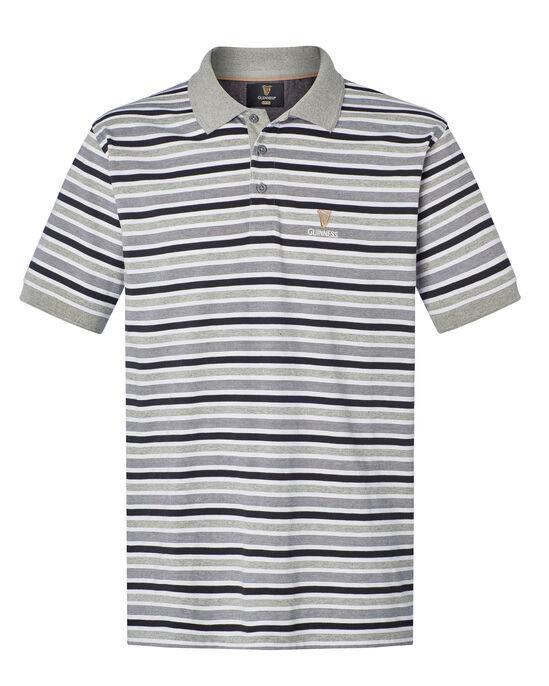 Guinness™ Short Sleeve Jersey Stripe Polo Shirt
