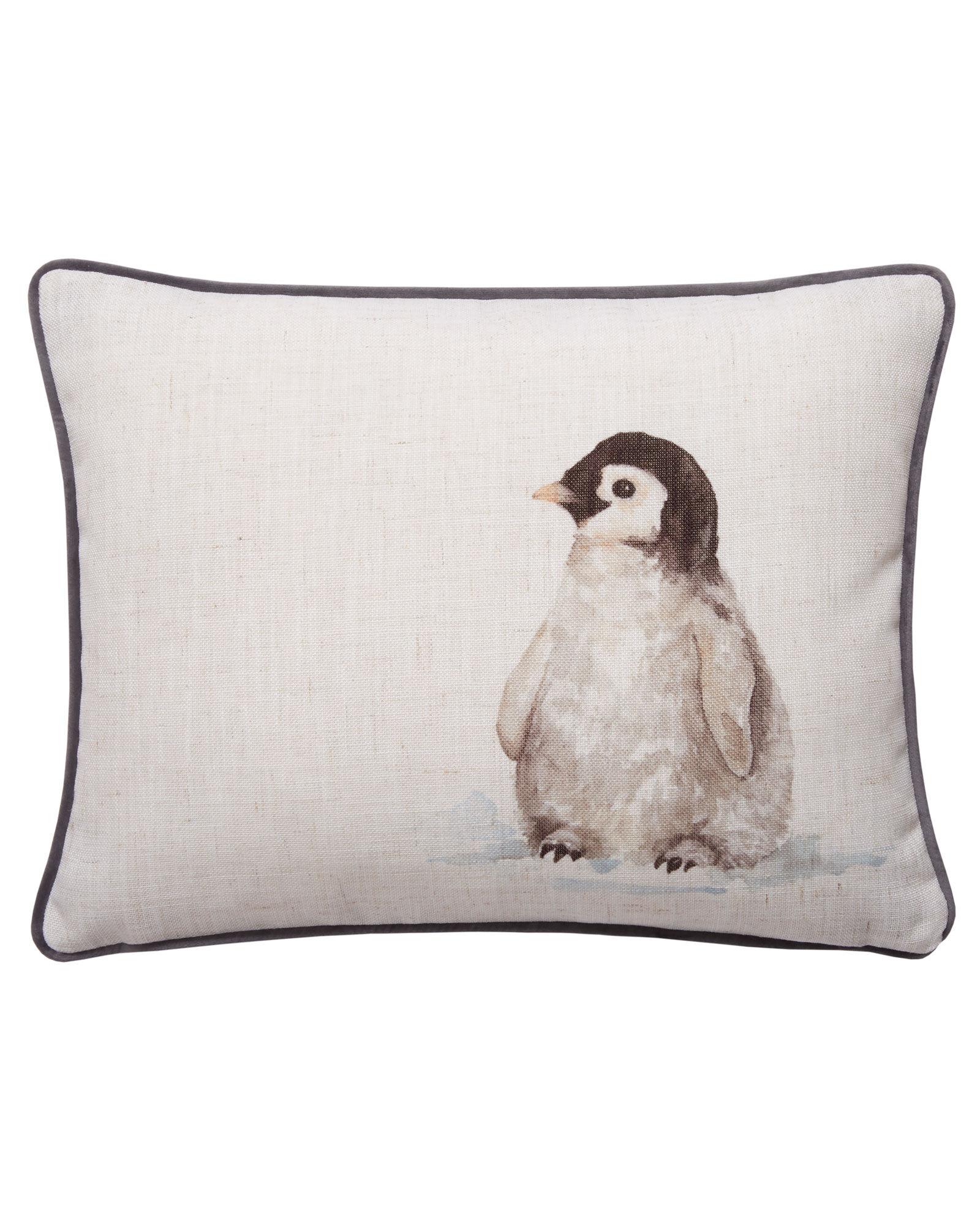 Penguin pillow penguin cushion penguin