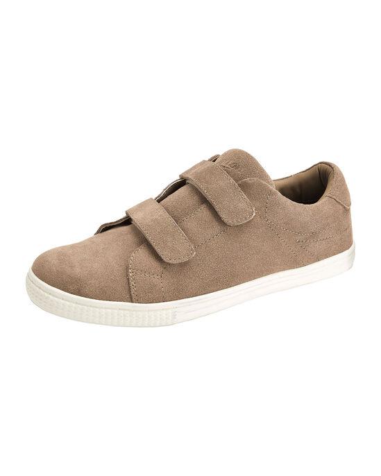 Suede Adjustable Strap Shoes