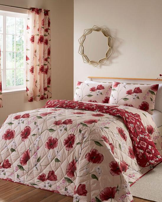 Poppy Bloom Bedspread