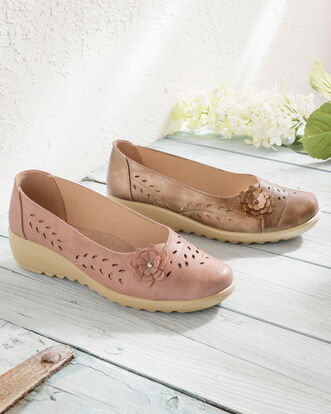 Flexisole Cut Out Flower Shoes