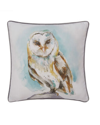 Perched Owl Cushion