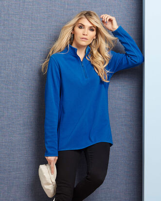 Reversible Half Zip Top