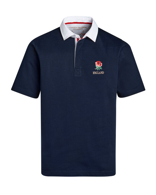 Short Sleeve Classic England Rugby Shirt
