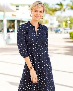 Spot Frockstar Button-through Dress