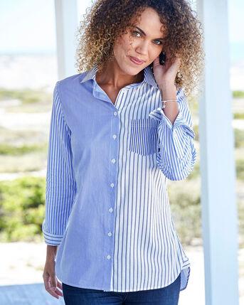 Mix and Match Stripe Blouse