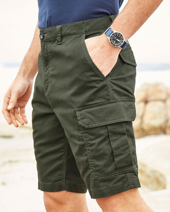 Stretch Cargo Shorts