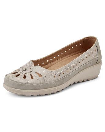 Flexisole Slip-on Flower Shoes