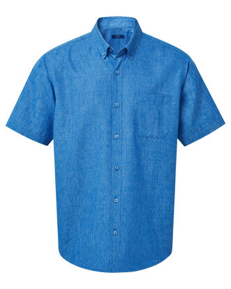 Dusk Blue Short Sleeve Soft Touch Shirt