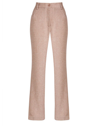Going Places Wide Straight Leg Elasticated Waist Trousers