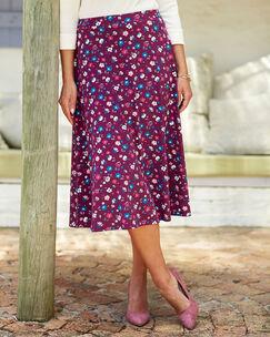 Tummy Control Floral Skirt