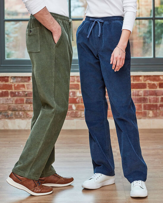 Cord Pull-on Trousers