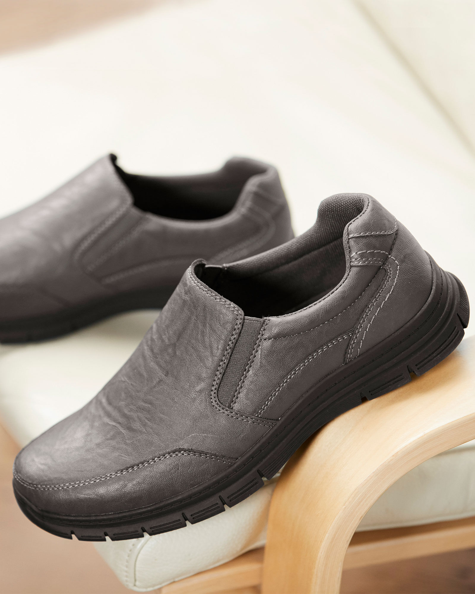 Dual Fit Casual Slip-on Shoes at Cotton