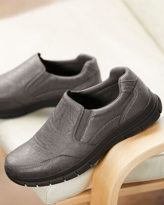 Dual Fit Casual Slip-on Shoes