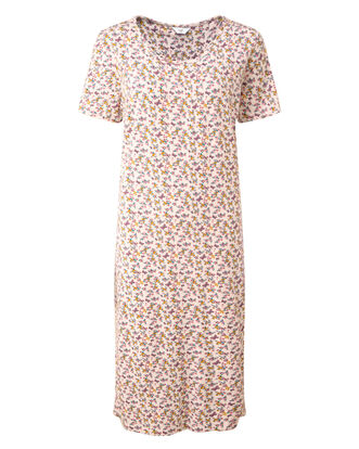 Jersey Floral Nightdress