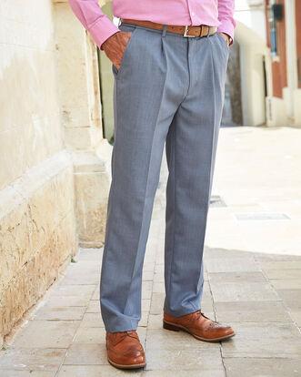 Pleat Front Supreme Easycare Trousers