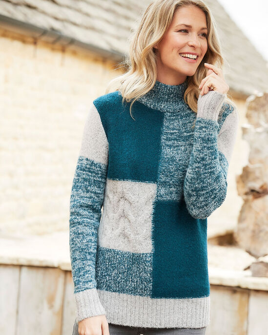 Patchwork Jumper