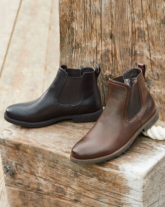 Pull-on Chelsea Boots
