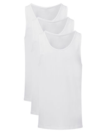 3 Pack Sleeveless Vests