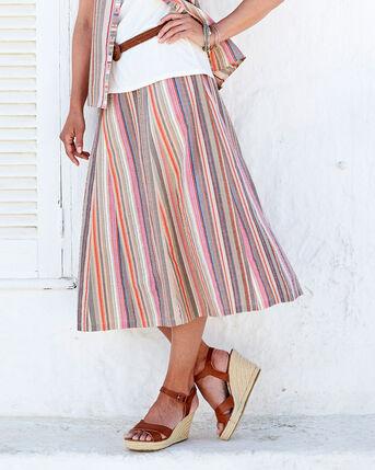 Seersucker Skirt