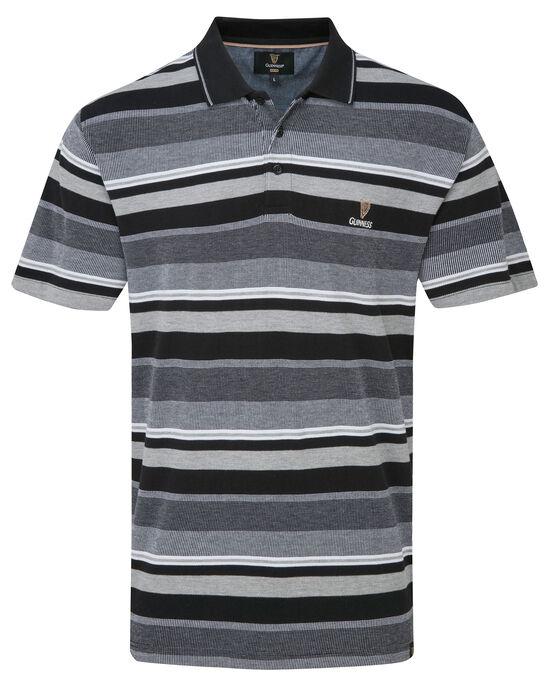 Guinness Variated Stripe Polo Shirt