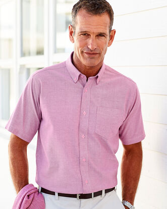 Classic Short Sleeve Oxford Shirt