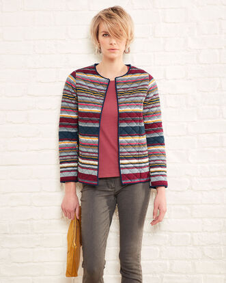 Quilted Stripe Jacket