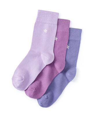 3pk Comfort Top Socks