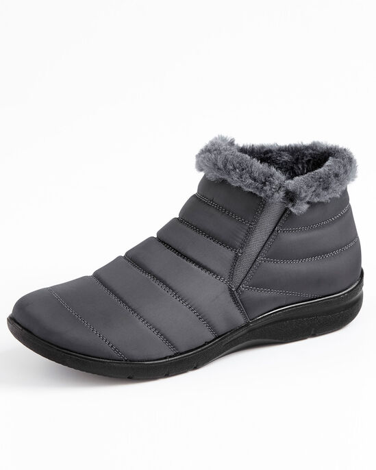 Flexisole Fur Lined Ankle Boots