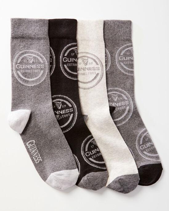 4 Pack Guinness™ Logo Socks