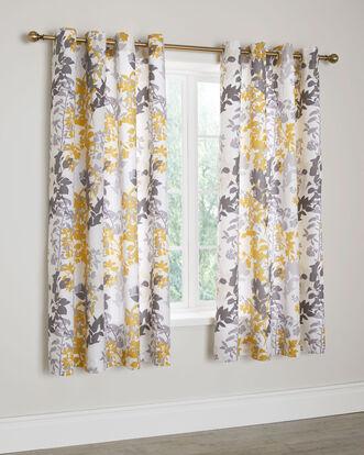 """Serena Eyelet Curtains 66X72"""""""
