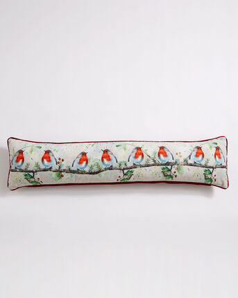 Watercolour Robin Draught Excluder