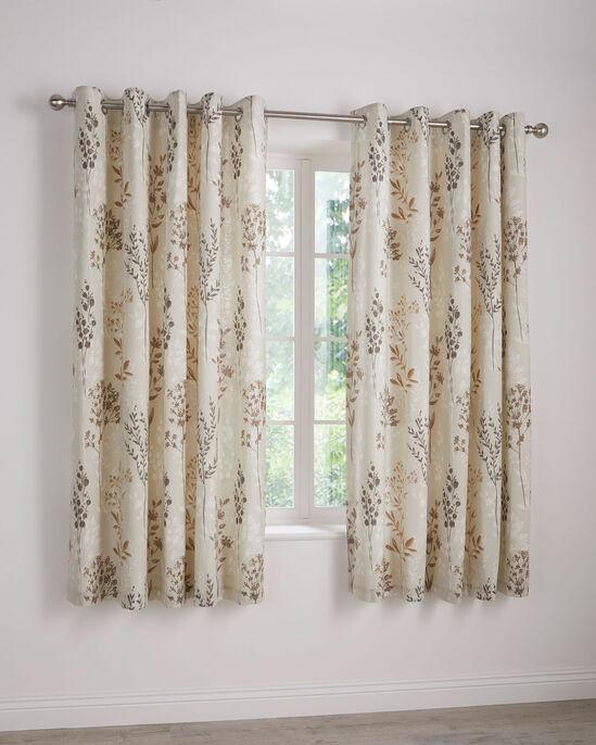 "Croft Eyelet Curtains 66x72"""