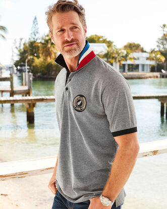 Short Sleeve New Zealand Polo Shirt