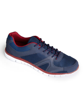 Mens Lightweight Flexi Comfort Trainers