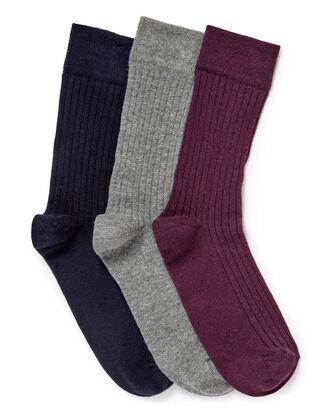 Pack of 3 Comfort Top Socks
