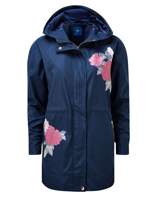 Floral Parka Jacket
