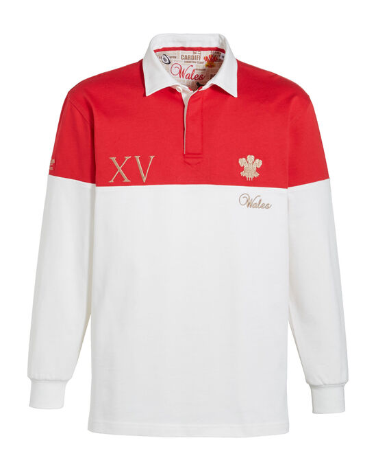 Long Sleeve Classic Rugby Shirt Wales