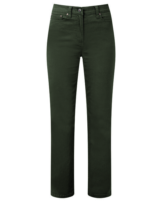 Ladies' Coloured Stretch Jeans