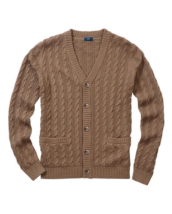 34e4ec0ec1 Cotton Cable Button-through Cardigan at Cotton Traders