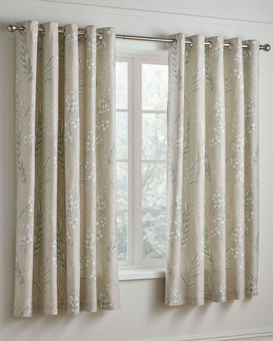 Howarth 200 TC Cotton Eyelet Curtains