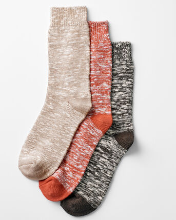3 Pack Cotton Blend Walking Socks