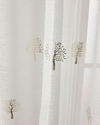 Tree Print Voile (Pair)