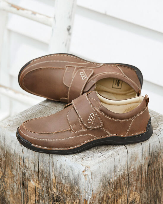 Leather Cushion Sole Adjustable Shoes
