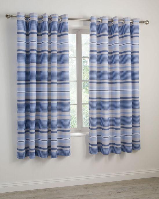 "Porto Eyelet Curtains 66x72"""