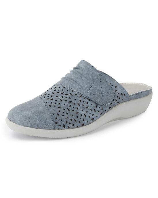 Lightweight Cushion Support Slip-on Mules