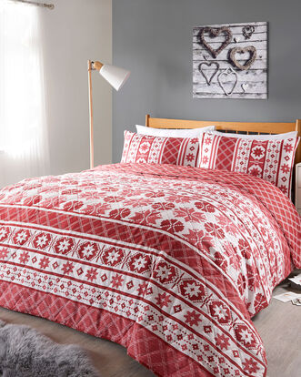 Fair Isle Bedspread